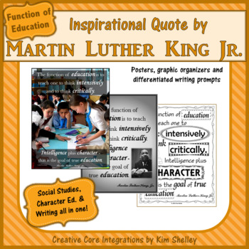 Martin Luther King Jr. Quotes EDUCATION by Creative Core ...