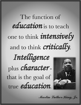 Martin Luther King Jr Quotes Education By Creative Core Integrations