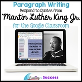 Martin Luther King Jr Quotes Paragraph Bell Ringer for the