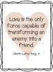 Martin Luther King, Jr. Quotes Posters