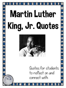 Martin Luther King Jr. Quotes for Reflection