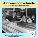 Martin Luther King Jr. Close Reading and Writing Activity