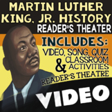 Martin Luther King Jr. Reader's Theater & More ★ MLK Jr Day Activity, Fun Script