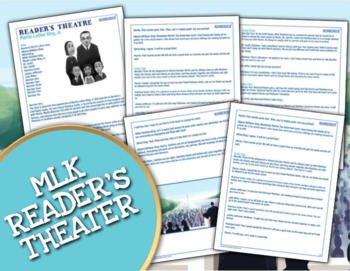 Martin Luther King Jr. Reader's Theater & More ★ Black History Month Activities