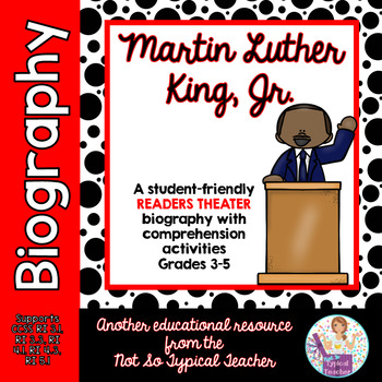 Readers Theater Martin Luther King, Jr. Script Black Histo
