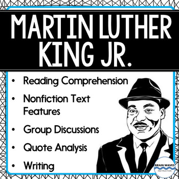 Martin Luther King, Jr. - Reading Comprehension and Activities