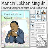 Martin Luther King Jr. Reading Comprehension and Matching