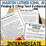 Martin Luther King Jr. Finding and Citing Text Evidence