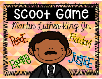Martin Luther King Jr. Activity | Reading Task Card Game: Scoot