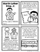 Martin Luther King Jr Reading/Writing Mini-Unit