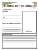 Martin Luther King Jr. Report