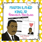 Martin Luther King Jr Research Brochure (English & Spanish Versions)