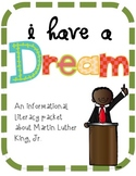Martin Luther King, Jr., Research Packet for Primary