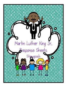 Martin Luther King Jr. Response Sheets