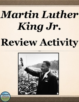 Martin Luther King Jr. Review Timeline
