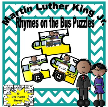Martin Luther King Jr. Rhymes on the Bus Puzzles