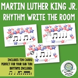 Martin Luther King Jr. Rhythm Write the Room MLK Day Activity