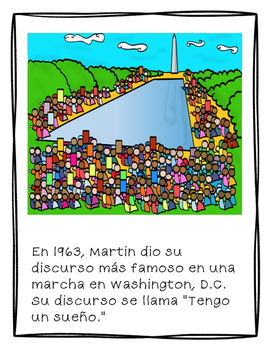 Martin Luther King, Jr. SPANISH
