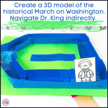 Martin Luther King Jr. STEM Activity with Reading Passage   MLK Activities