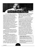 Martin Luther King Jr. Scavenger Hunt Informational Text Pack