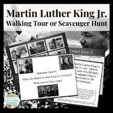 Martin Luther King Jr. Scavenger Hunt Task Card or Walking Tour Activity MLK Day