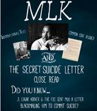 Martin Luther King Jr. Secret FBI Letter Close Read