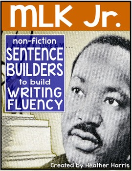 Martin Luther King Jr. Sentence Builders