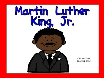 Martin Luther King Jr.- Shared Reading Kindergarten and Fi