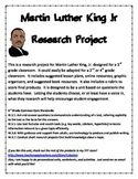 Martin Luther King, Jr Short Research Project 3rd grade