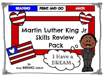 Martin Luther King Jr. Skills Review Pack