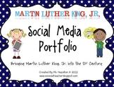 Martin Luther King, Jr. Social Media Portfolio [CCSS Aligned Writing Pack]
