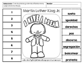 Martin Luther King Jr. Spanish ABC order