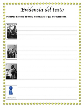 MLK Martin Luther King Jr. (Spanish Reading Comprehension Informational text)