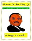 MLK Martin Luther King Jr. (Spanish Reading Comprehension Informational text)