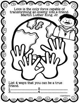 Martin Luther King Jr. Speech Therapy {Social Skills Lesson Plans}