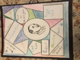 Martin Luther King Jr. Stain Glass Activity Project Poster
