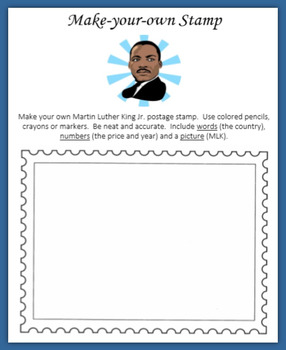 Martin Luther King Jr Stamps and Coins