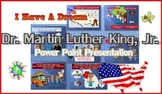 Martin Luther King, Jr. Story Power Point Presentation