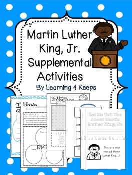Martin Luther King, Jr. Supplemental Activities