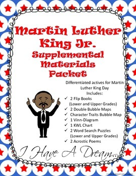 Martin Luther King Jr. Supplemental Resource Packet