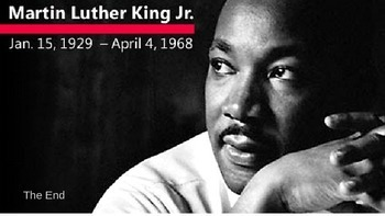 Martin Luther King Jr. Talk a Mile a Minute