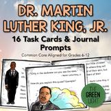 Martin Luther King Jr. Task Card/Journal Prompts