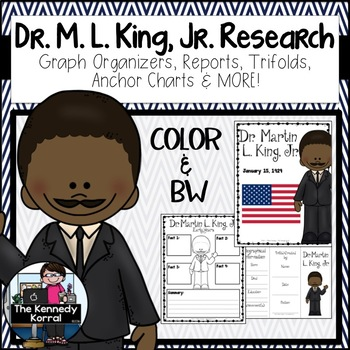 Dr. Martin Luther King, Jr. Research Report Bundle