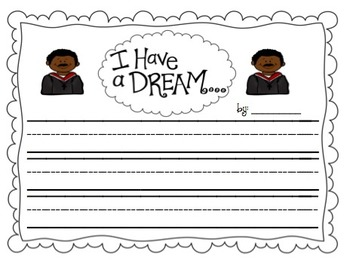 Martin Luther King Jr. Thematic Writing Promts