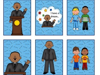 Martin Luther King Jr. Themed Reinforcing Games