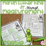 Martin Luther King Jr. Worksheet with Measurement Free