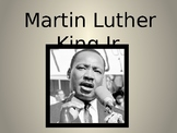Martin Luther King Jr. Timeline PPT