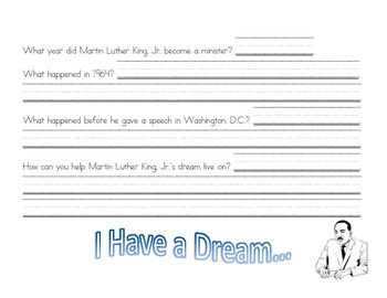 Martin Luther King Jr. Timeline with Questions