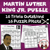 Martin Luther King Jr Trivia Puzzle