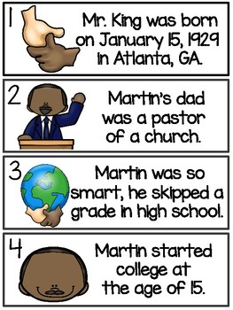 Martin Luther King, Jr. - True or False